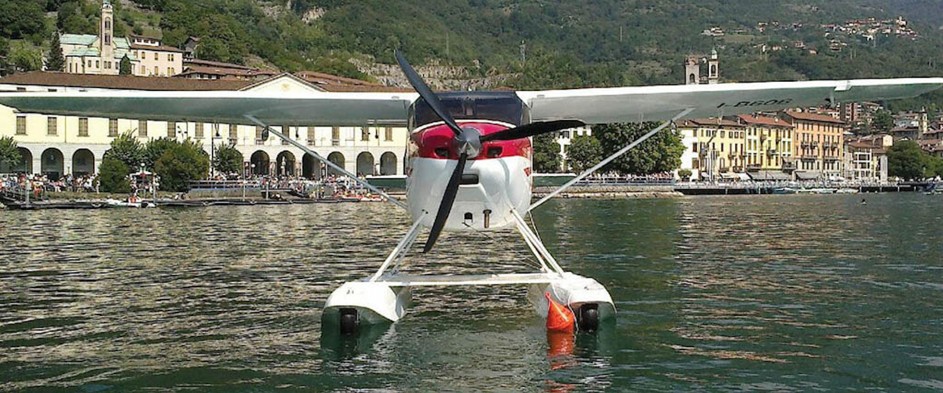 Amphibious aircraft in Italy